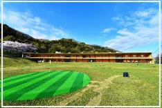 倉敷市の「ひろえの森」ゴルフ練習場 充実の施設
