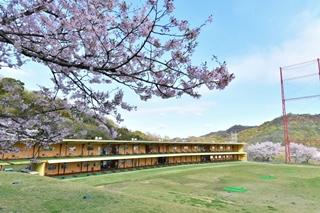 岡山県倉敷市のゴルフ練習場の打席全体イメージ