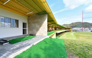 岡山県倉敷市のゴルフ練習場のVIP打席イメージ