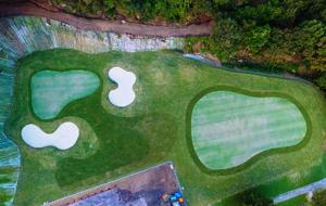 岡山県倉敷市のゴルフ練習場のアプローチ練習場イメージ
