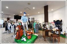 岡山県倉敷市の「ひろえの森」ゴルフ練習場 最新のゴルフグッズ販売